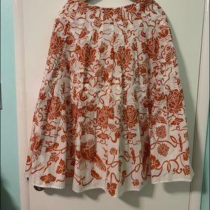 Isda & co flare skirt size 4